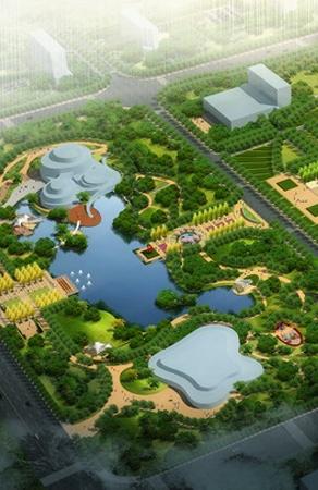 山东省金乡县市政广场及长宁公园景观设计