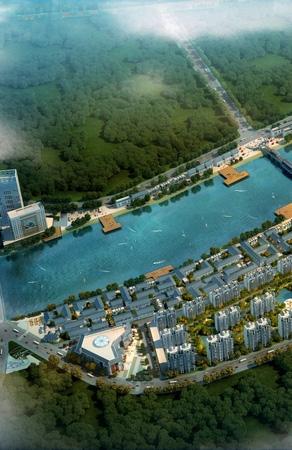 辽宁凤城二道河两岸整体规划设计