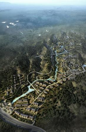 """张家口市""""山中城""""新园景区修建性详细规划"""