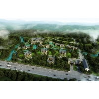辽宁宝山汤池村温泉度假区规划设计